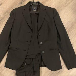 Brooks brothers women's black suit